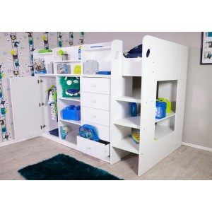 Flair Furnishings Wizard High Sleeper Storage Station
