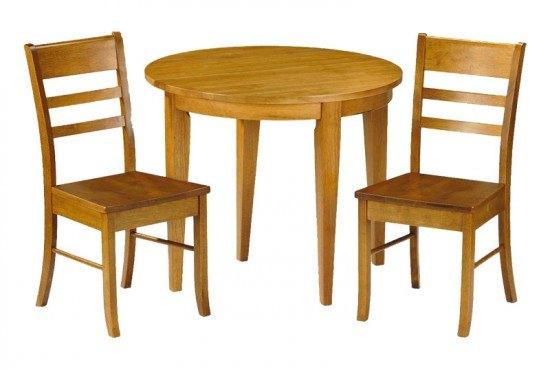Julian Bowen Consort 2 Seater Honey Pine Dining Set
