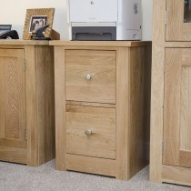 Homestyle Torino 2 Drawer Filing Cabinet
