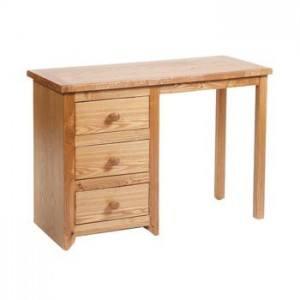Expo Line Hamilton Single Pedestal Dressing Table