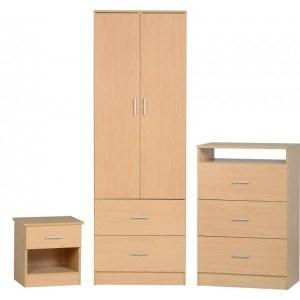 Seconique Polar Bedroom Set-