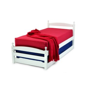 Metal Beds Palermo Guest Bed Set-
