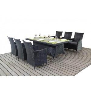 WGF Prestige Six Seater Rectangular Dining Set