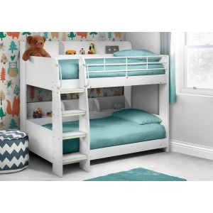 Julian Bowen Domino Bunk Bed White