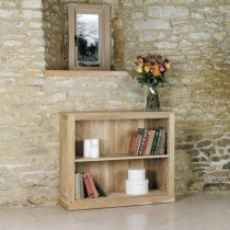 Baumhaus Mobel Oak Low Bookcase