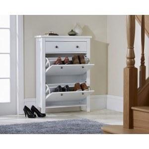 GFW Two Tier Shoe Cabinet-