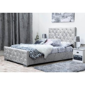 Sleep Design Buckingham Fabric Bed Frame -