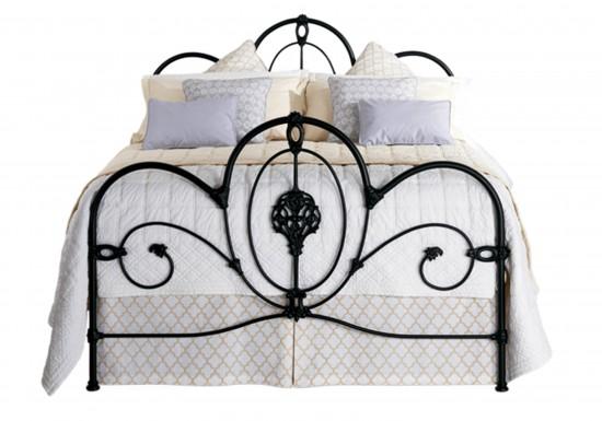 Original Bedstead Company Ballina Iron Bedstead-color Satin Black