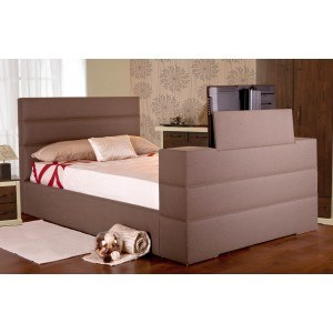 Sweet Dreams Mazarine Upholstered TV Bed Frame-