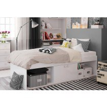 Kidsaw Arctic Low Sleeper Cabin Storage Bed