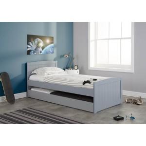 Birlea Beckton Grey Guest Bed Frame-