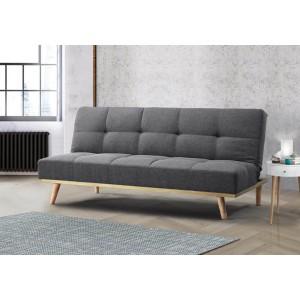 Birlea Snug Grey Fabric Sofa Bed-