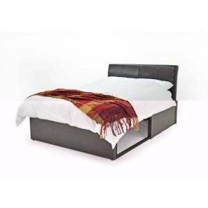 Metal Beds Texas Storage Bed Frame-