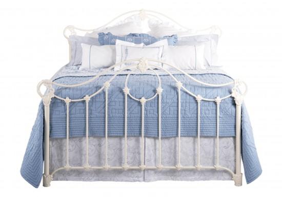 Original Bedstead Company Alva Bedstead-color Glossy Ivory