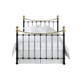 Original Bedstead Company Selkirk Iron with Brass Bedstead