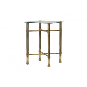 Original Bedstead Company Brass Bedside Table