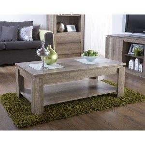 GFW Canyon Oak Lamp Table