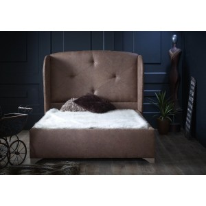 Oliver & Sons Hector Leather Bed Frame -