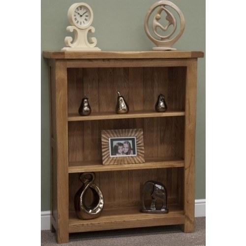 Homestyle Rustic Oak Small Bookcase Bookcases