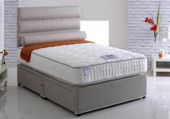 Vogue Beds New Emperor Latex 1500 Divan Bed-