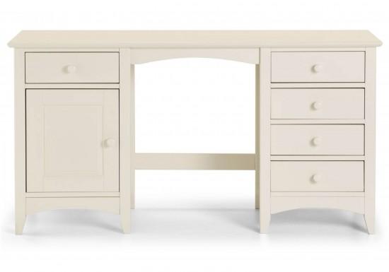 Julian Bowen Cameo Stone White Dressing Table-color Stone White