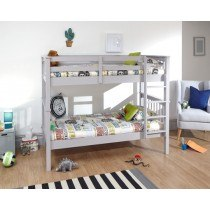 Novaro Grey Bunk Bed Room Set