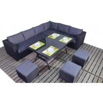WGF Prestige Corner Sofa and Table