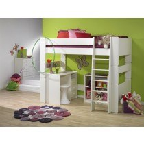 Steens For Kids High Sleeper in Solid White