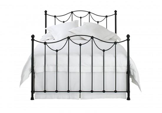 Original Bedstead Company Carie Iron Bedstead-color Satin Black
