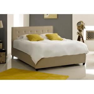 Artisan Fabric Button Ottoman Bed Frame -