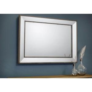 Julian Bowen Symphony Beaded Wall Mirror-