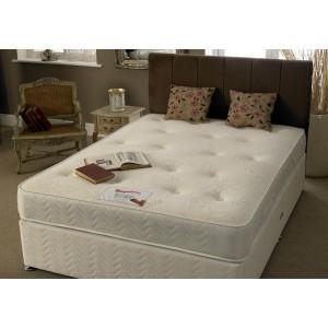 Myer Adams Memory Pocket Silk Divan Bed-