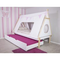 Flair Furnishings Teepee Tent bed frame with trundle-
