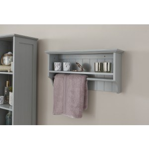 GFW Colonial Towel Rail Shelf