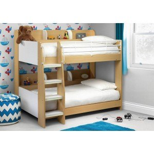 Julian Bowen Domino Bunk Bed Maple-