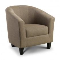 Julian Bowen Hugo Fabric Tub Chair -