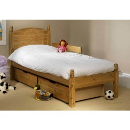 Friendship Mill Teddy Wooden Bed Frame