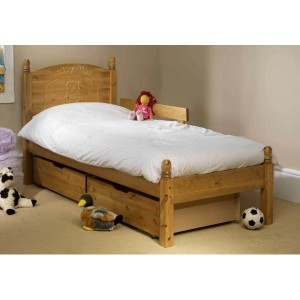 Friendship Mill Teddy Wooden Bed Frame-