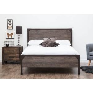 Sleep Design Marlow Rustic Bed Frame -