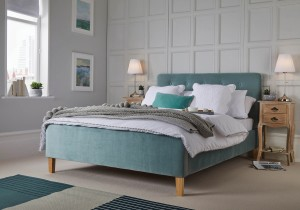 LPD Pierre Fabric Bed Frame-