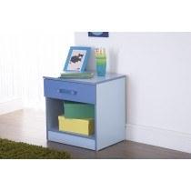 GFW Furniture Ottawa 2 Tones 1 Drawer Bedside -