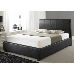 Artisan Leather Ottoman Bed Frame -