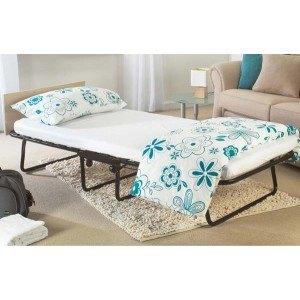 Jay-Be Jubilee Airflow Folding Guest Bed with Headboard-