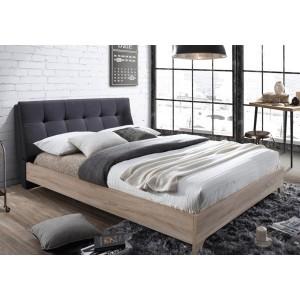 Artisan Fabric & Beech Bed Frame -