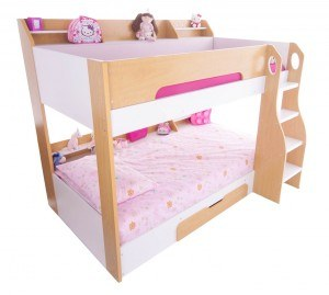 Flair Beds Flick Bunk bed Maple
