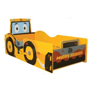 Kidsaw JCB Muddy Friends Junior Bed -