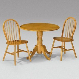 Julian Bowen Dundee Drop Leaf Dining Set with 2 windsor chairs