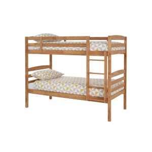 Serene Brooke Oak Bunk Bed-