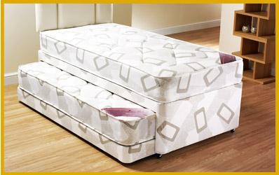 Divan beds single divan beds king size double divan bed for Divan with guest bed