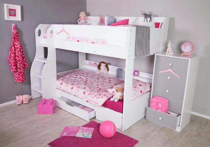Flair Furnishings Flick Bunk Bed White